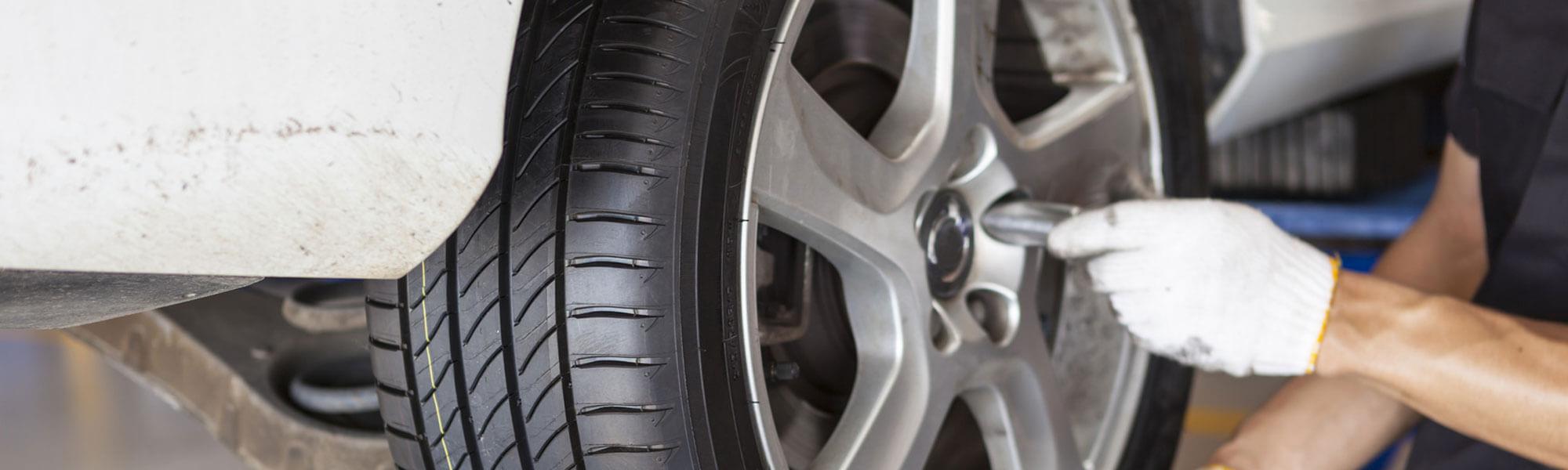 Installing Tire